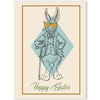 Rabbit Sketch Easter Greeting Card - ModLoungePaperCompany