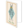 Hipster Rabbit Easter Greeting Card - ModLoungePaperCompany