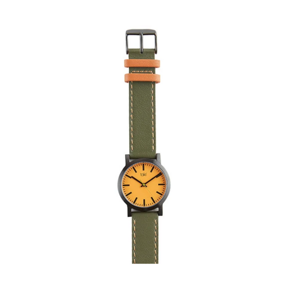 Nicollet Watch Olive - ModLoungePaperCompany