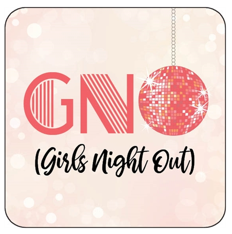 Girls Night Out Disco Coaster - ModLoungePaperCompany