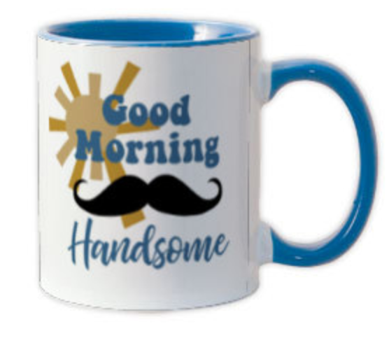 Good Morning Handsome Coffee Mug - ModLoungePaperCompany