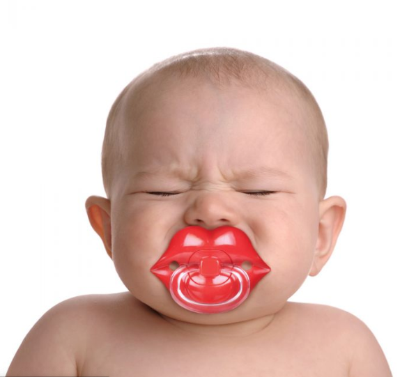 Chill Baby Lips Pacifier - ModLoungePaperCompany