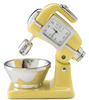 Mixer Clock Yellow - ModLoungePaperCompany