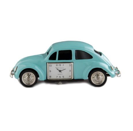 VW Car Clock Light Blue - ModLoungePaperCompany