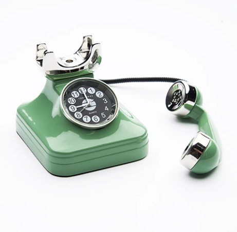 phone desk clock by tokyobay