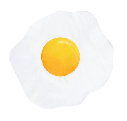 egg yolk cocktail napkin