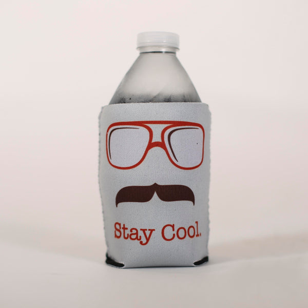 Stay Cool Gray Koozie - ModLoungePaperCompany