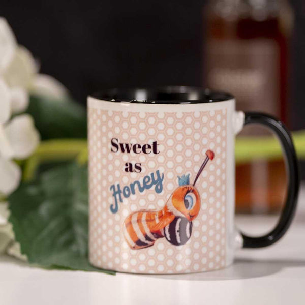 sweet as honey coffee mug