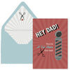 Barbershop Fathers Day Card - ModLoungePaperCompany