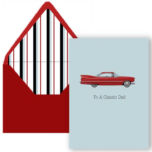 Classic Dad Fathers Day Card - ModLoungePaperCompany