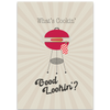 Barbecue Grill Greeting Card - ModLoungePaperCompany