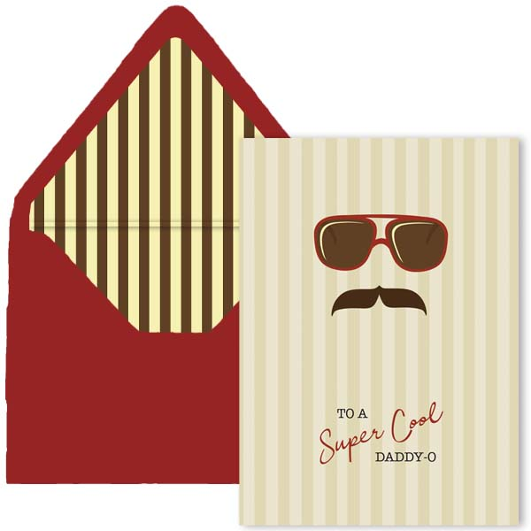 Cool Dad Greeting Card - ModLoungePaperCompany