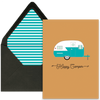 Happy Camper Greeting Card - ModLoungePaperCompany