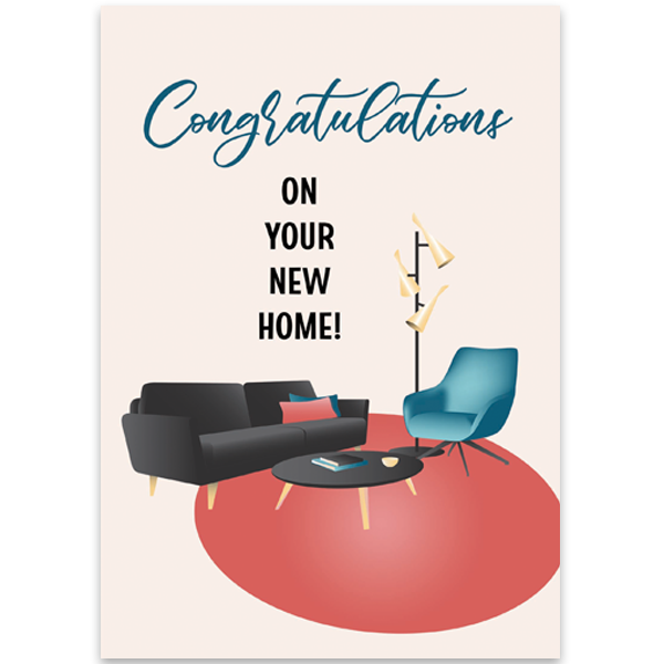 Mod Furniture Congratulations Card - ModLoungePaperCompany