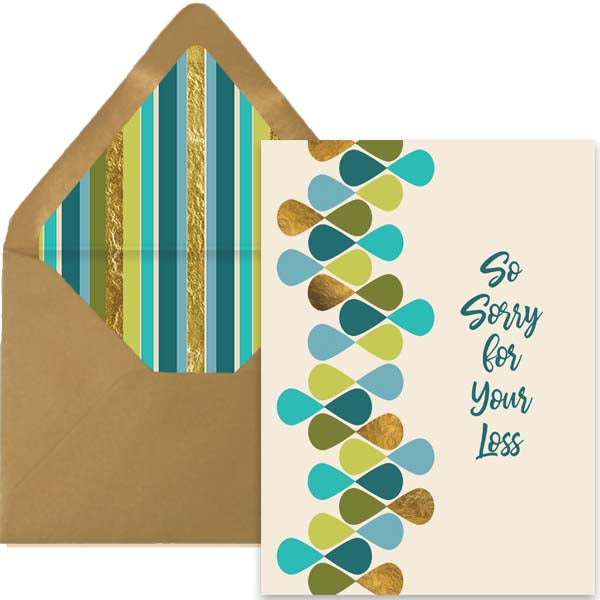 Sorry for your Loss Card - ModLoungePaperCompany