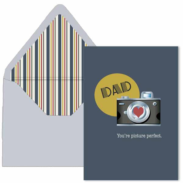Vintage Camera Fathers Day Card A7 - ModLoungePaperCompany