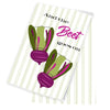 Beet Goes On Tea Towel - ModLoungePaperCompany