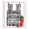 Paris Sketched Assorted Boxed Notecards - ModLoungePaperCompany