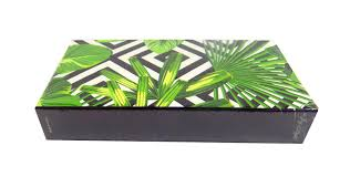 tropical palm matchbox