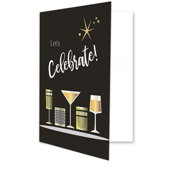 Vintage Cocktail Greeting Card - ModLoungePaperCompany