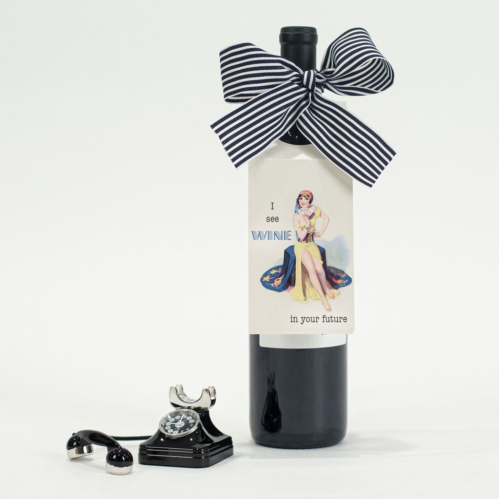 Wine In Your Future Wine Tag - ModLoungePaperCompany