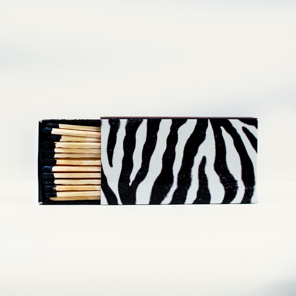 Zebra matches by the Joy of Light | MOD Lounge Paper Co.
