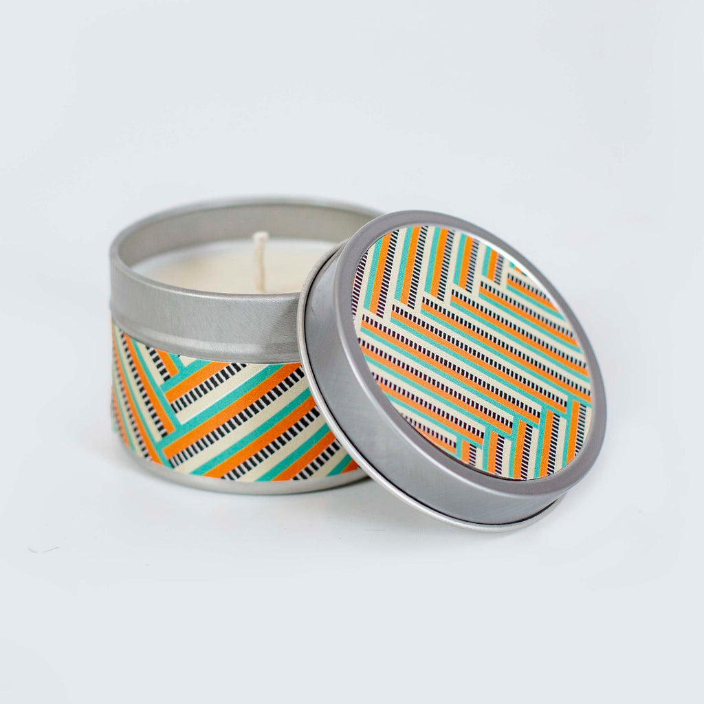 ZigZag Travel Candle - ModLoungePaperCompany