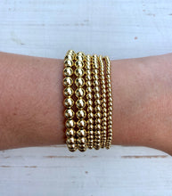 Metallic Stackables - Gold 6mm