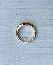 Gold Dome Ring