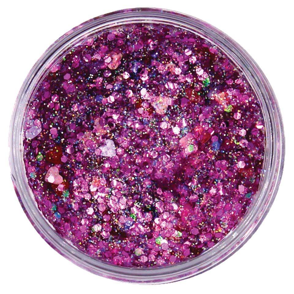 Candied Hearts Galexie Glister Glitter Galexie Glister