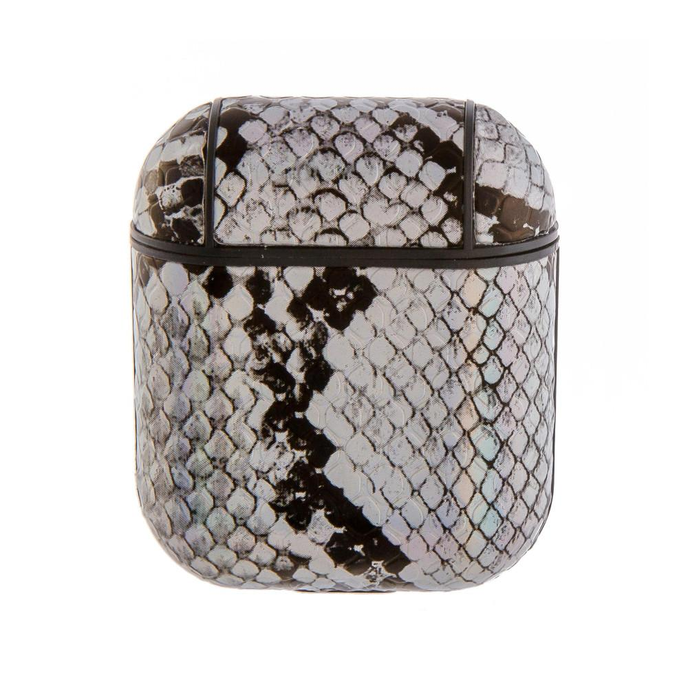 Faux Leather Snakeskin AirPod Case Judson & Company