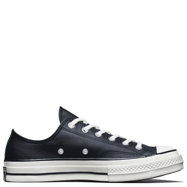 CT70 BLACK LEATHER LOW CUT 167065C - raretem.shop