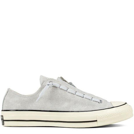 CT70 GRAY ZIP OX PURE PLATINUM LOW CUT 159757C - raretem.shop