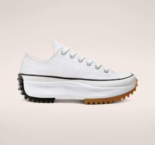 RUN STAR HIKE WHITE LOW CUT 168817C