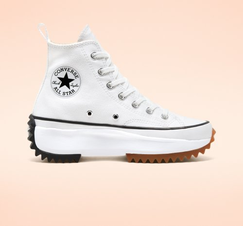 RUN STAR HIKE WHITE HI CUT 166799C