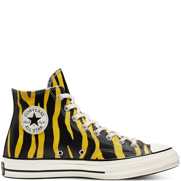 CT70 YELLOW LEATHER HI CUT 165965C - raretem.shop
