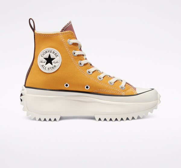 RUN STAR HIKE SUN FLOWER GOLD HI CUT 171122C