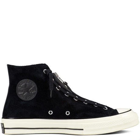 CT70 BLACK ZIP SUEDE HI CUT 159756C - raretem.shop