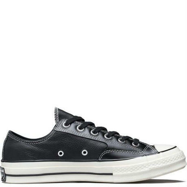 CT70 LUX LEATEHR BLACK LOW CUT 163330C - raretem.shop