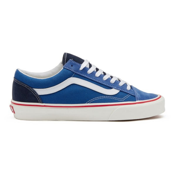 VANS US STYLE36 RETRO BLUE LOW CUT