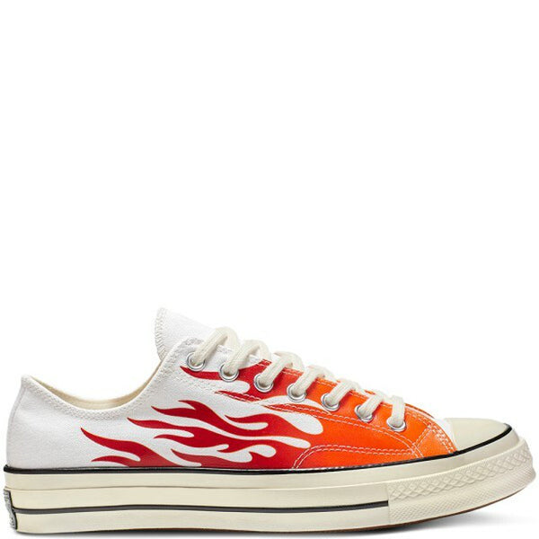 CT70 FLAME WHITE LOW CUT 165029C - raretem.shop