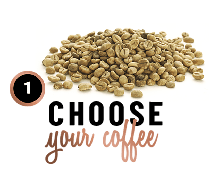 Step 1 - Choose Your Coffee