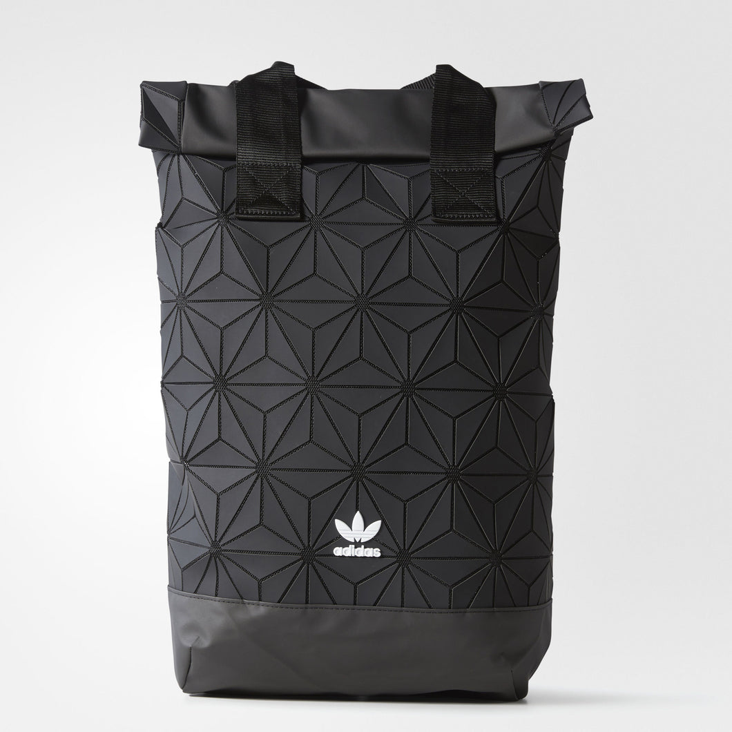 Adidas 3D Roll Up Backpack Issey Miyake (Black) - Japan Paradise