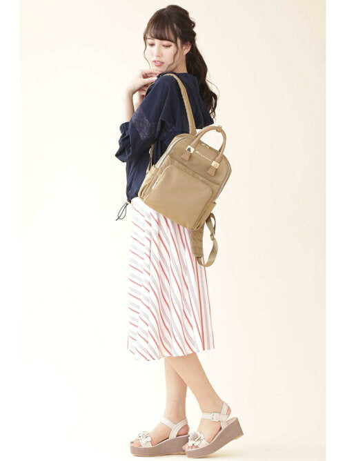 Jill by Jillstuart Box Backpack - Japan Paradise