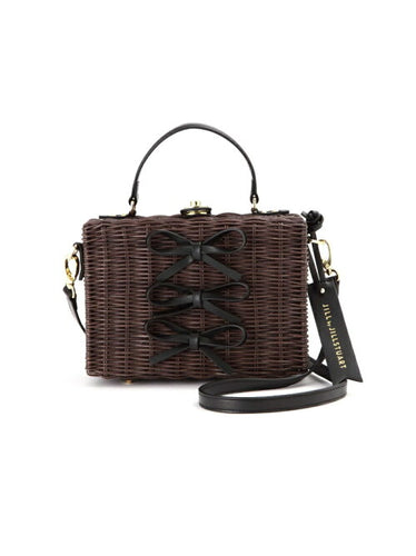 Jill by Jillstuart Square Rattan Bag - Japan Paradise