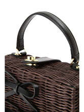 Load image into Gallery viewer, Jill by Jillstuart Square Rattan Bag - Japan Paradise