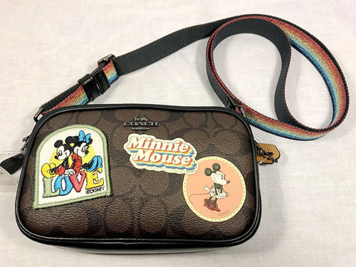 Coach X Disney Minnie Mouse Charlie Backpack Black Limited Edition (Dark Brown) - Japan Paradise