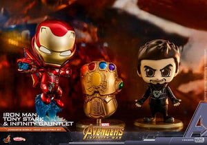 Tony Stark, Iron Man Mark L Infinity Gauntlet - Collectible Set (Cosbaby) - Japan Paradise