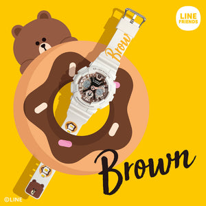 G-Shock x Linefriends (Mr Brown) - Japan Paradise