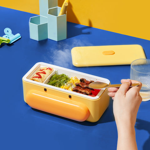 Cute Duck Self Heat Lunch Box 18 - Sneapy